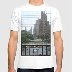 Perfect Order White SMALL Mens Fitted Tee