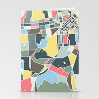 san francisco Stationery Cards featuring San Francisco. by Studio Tesouro