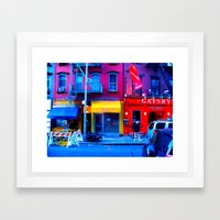 Primary Colors Framed Art Print