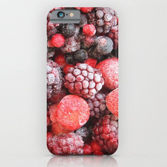 Frozen Berries iPhone & iPod Case
