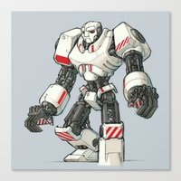 Giant Industrial Robot! Canvas Print