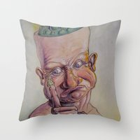 Boogers? Throw Pillow