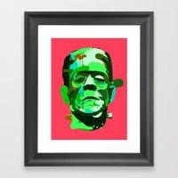 Frank. Framed Art Print