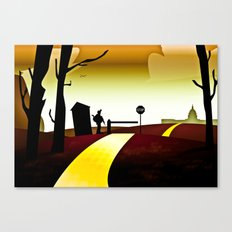 The Wizards of Oz Canvas Print