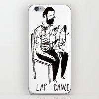 Lap Dance iPhone & iPod Skin