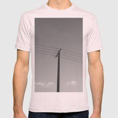 One for four Mens Fitted Tee Light Pink SMALL