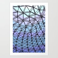 Between The Lines #1 Art Print