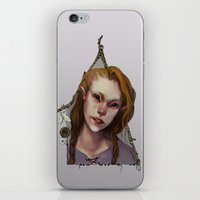 Hedge Witch 1 iPhone & iPod Skin