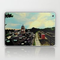 Waiting For A Train In G… Laptop & iPad Skin
