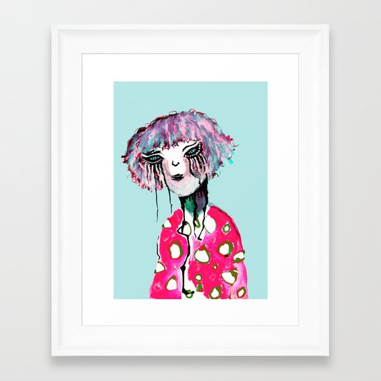 DRIP? Framed Art Print