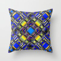 Throw Pillow featuring Diamond Graphix by MattXM85