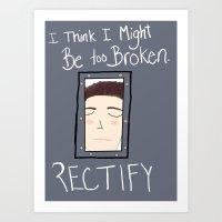 Rectify Art Print