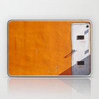 Orange Wall Laptop & iPad Skin