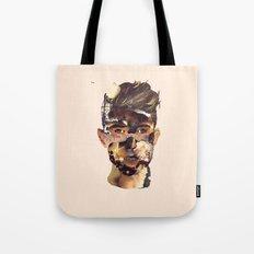 Fire Head Tote Bag
