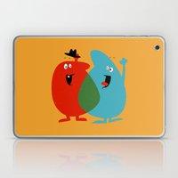 Hello Old Chum | Illustration of Friendship Laptop & iPad Skin