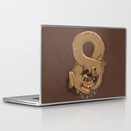 Chase Your Tail Forever Laptop & iPad Skin