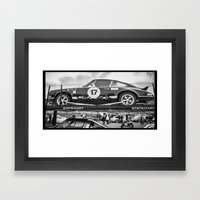 Historic Car Framed Art Print