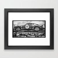 Historic Car Framed Art Print
