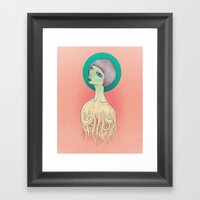 Unravel Framed Art Print
