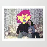 Couch Tater Art Print