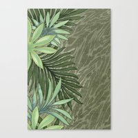 A Run Through the Jungle Canvas Print