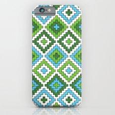 Macrame Green iPhone 6s Slim Case