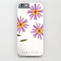 Purple Aster Modern Botanical iPhone 6 Slim Case