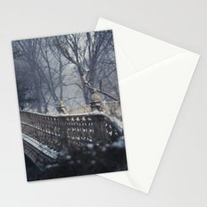 Central Park in the Snow Stationery Cards