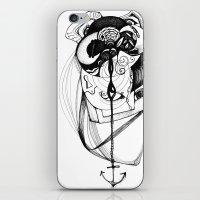 plumb line iPhone & iPod Skin