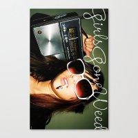 Canvas Print featuring GGDUB - Radio by GGDUB