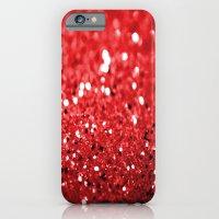 Glitter Red iPhone 6 Slim Case