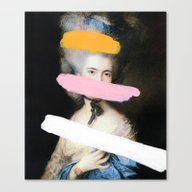 Brutalized Gainsborough … Canvas Print