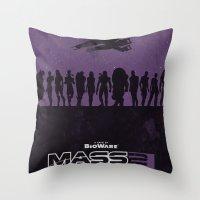 Mass Effect 2 Throw Pillow