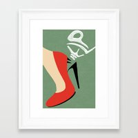 Help me! Framed Art Print
