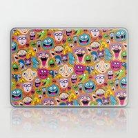 Creepy Smiles Pattern Laptop & iPad Skin