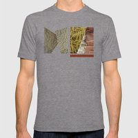 No Carbs and Cholestrols   Mens Fitted Tee Tri-Grey SMALL