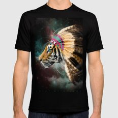 Fight For What You Love (Chief of Dreams: Tiger) Tribe Series SMALL Mens Fitted Tee Black