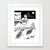 Liberated Woman Framed Art Print