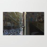Dereliction Canvas Print