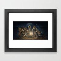 The Humanity Paradigm Framed Art Print