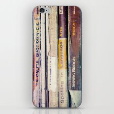 Vintage School Books iPhone & iPod Skin