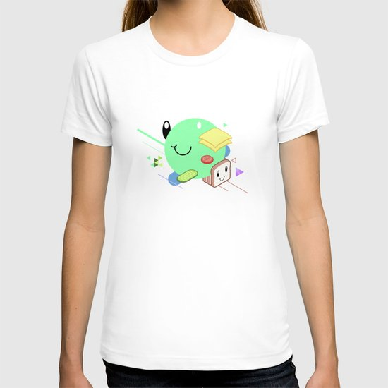 Tasty Visuals - Sandwich Time (No Grid) T-shirt