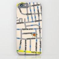 Tel Aviv Map Design - Fl… iPhone 6 Slim Case