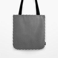BLACK DOT Tote Bag