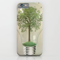 iPhone & iPod Case featuring green ideas by vin zzep