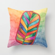 Just Leafy Throw Pillow