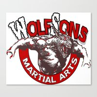 WolfSons2 Canvas Print
