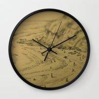 Swamis Sketch Wall Clock