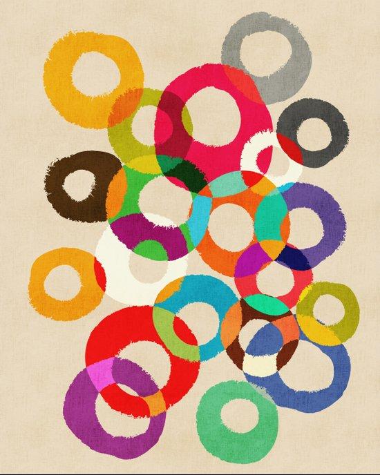 Loop Hoop Canvas Print