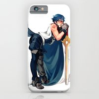 iPhone & iPod Case featuring Chrom 1/7 Scaled Figure by Blue